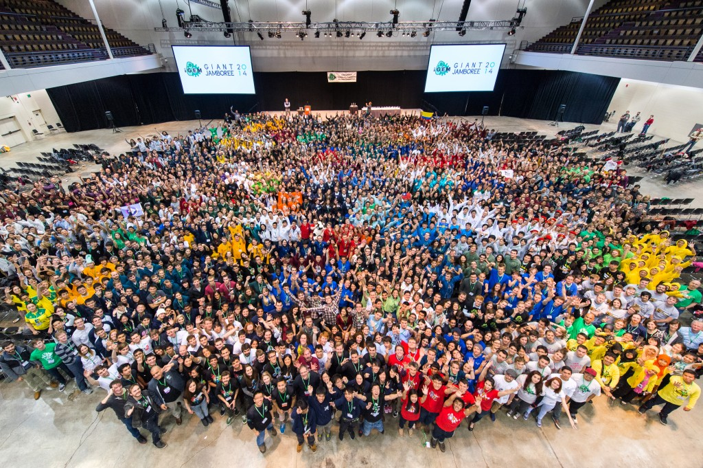 iGEM from Above 2014
